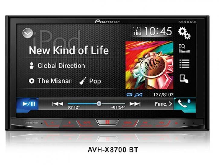 PIONEER AVH X 8700BT App + Android