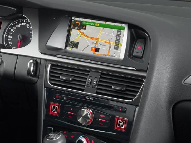 ALPINE X701D-Audi A4