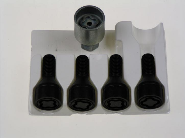 RADSICHERUNG + 10mm black smart 453