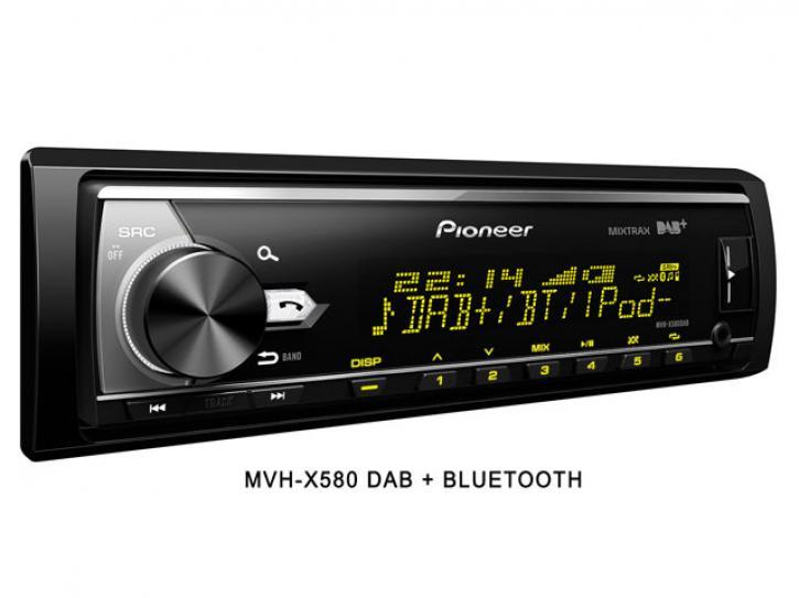 MVH-X580 DAB + Bluetooth + DAB Antenne