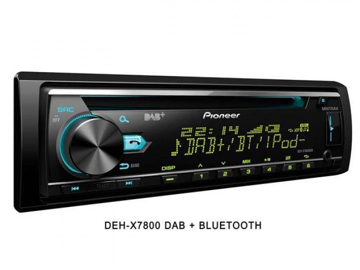 DEH-X7800 DAB + Bluetooth + DAB Antenne