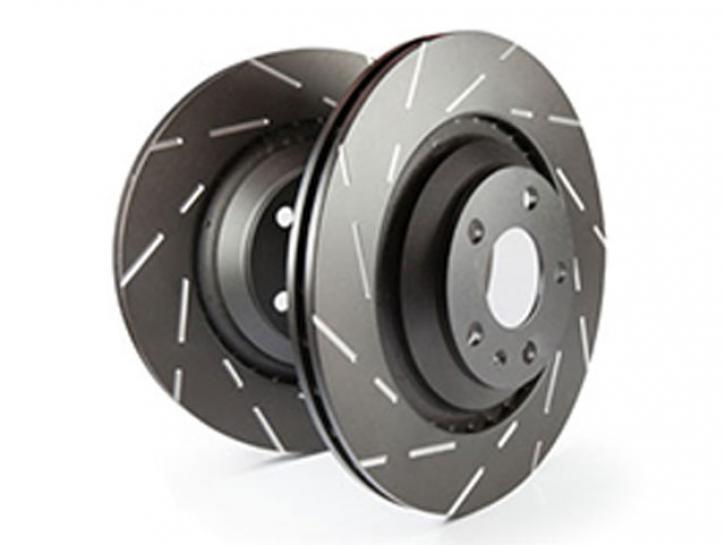 Bremsscheiben smart for Four Black Dash
