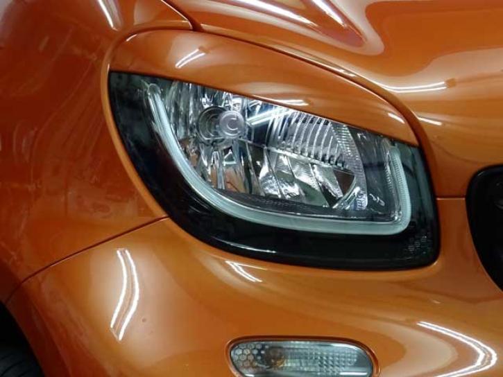 SCHEINWERFERBLENDEN smart 453 lava orange