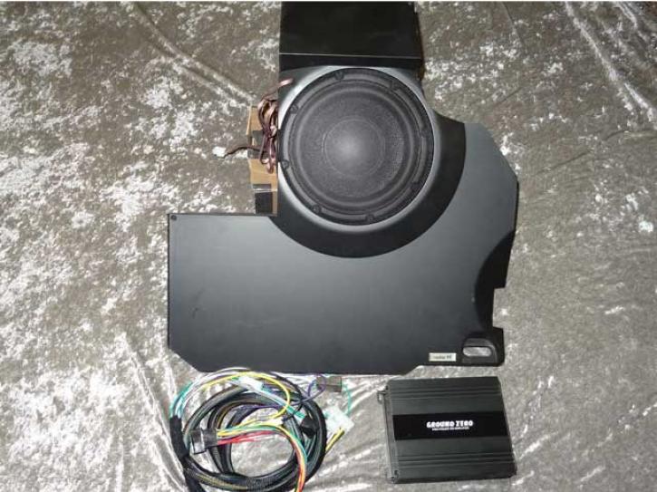 SOUNDSYSTEM 3-Kanal Sub 20cm smart 451