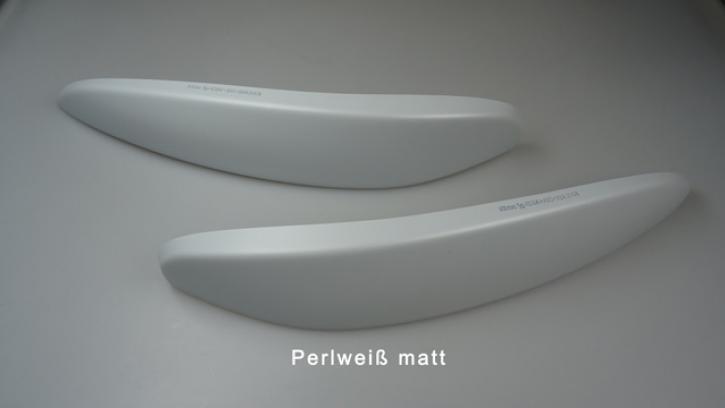 SCHEINWERFERBLENDEN smart 453 perlweiß matt