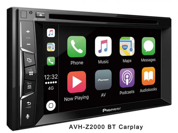 PIONEER AVH-Z 2000 BT Carplay