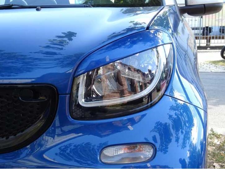 SCHEINWERFERBLENDEN smart 453 midnight blue