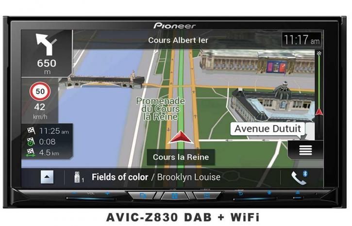 PIONEER AVIC-Z 830 DAB  Wifi