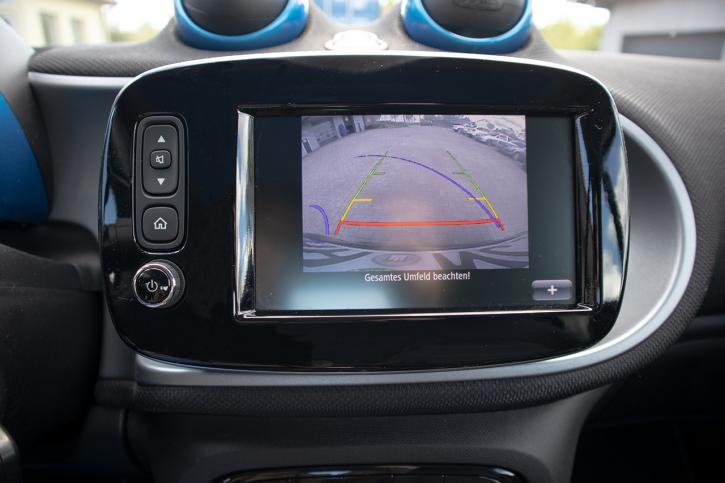 Komplett-Set Rückfahrkamera Smart 453 forFour