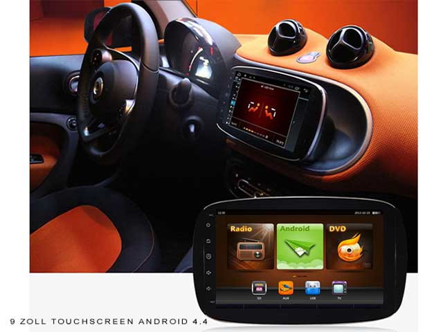 multimedia system android smart 453 45201. Black Bedroom Furniture Sets. Home Design Ideas