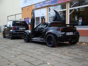 Aluminiumfelgen Roadster Speedy Black Devil