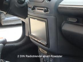 DOPPEL DIN RADIOBLENDE smart Roadster