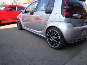 Aluminiumfelgen Le Mans smart forFour