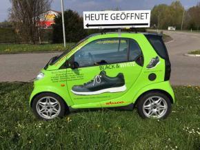 DACHTRAEGER für Werbeschilder etc. smart 450