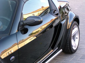 Airscoop smart Roadster silber