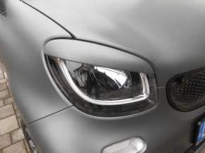 SCHEINWERFERBLENDEN smart 453 grau metallic