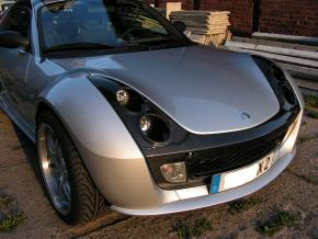 Carbon Kit smart Roadster