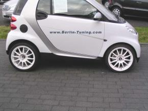 ALUMINIUMFELGEN PRORACE new smart 451