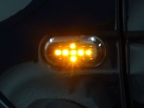 SEITENBLINKER LED black smart 453