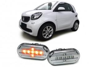 SEITENBLINKER LED clear smart 453